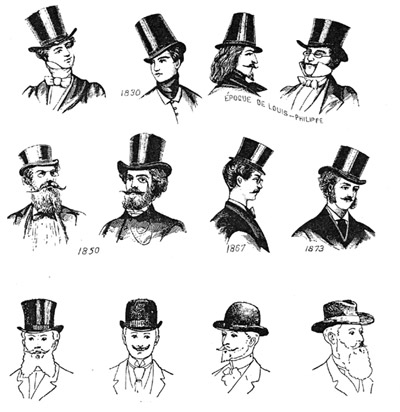 Fashion Hats on Fabulous Hats   History Of Hats    11  The 1800   S